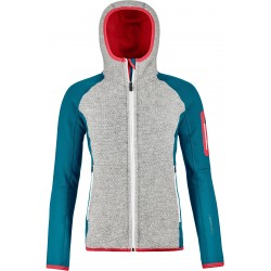 Fleece Plus Classic Knit Hoody W