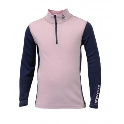 Aclima AS - WW Mock Neck Zip Children