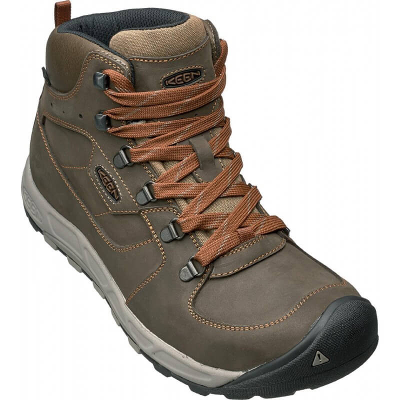 Keen Westward Mid Leather Leather Leather WP Men 154bc5