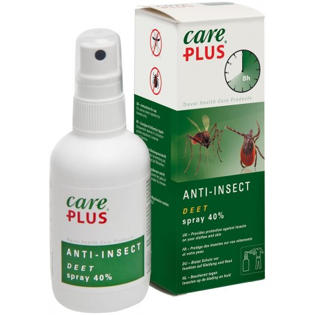 Care Plus - Anti-Insect Deet 40% Spray 100ml