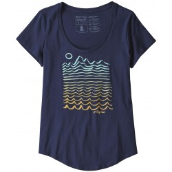 Wavy Maybe Organic Scoop T-Shirt Ws