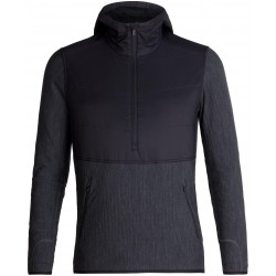 Descender Hybrid LS Half Zip Hood Ms