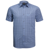 shirt blue checks