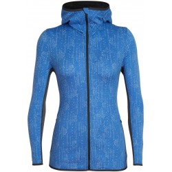 Icebreaker - Away LS Zip Hood Showers Ws