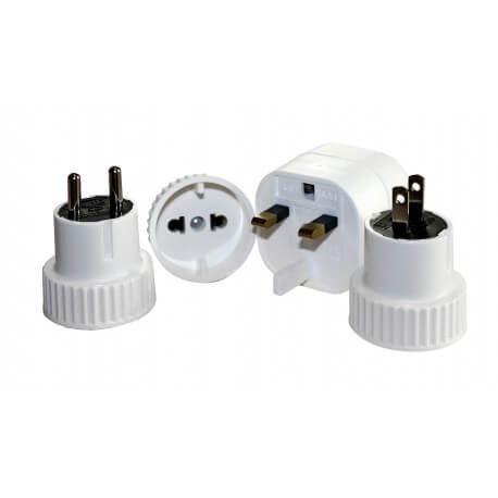 Relags - Adapter 'Welt Set', 4 Adapter