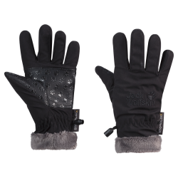 Jack Wolfskin - SOFTSHELL HIGHLOFT GLOVE KIDS