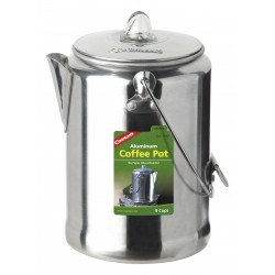 Aluminium Percolator-Kaffee-Kanne