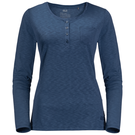 Jack Wolfskin - WINTER TRAVEL HENLEY WOMEN