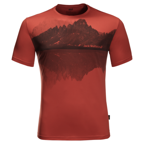 Jack Wolfskin - PEAK GRAPHIC T M