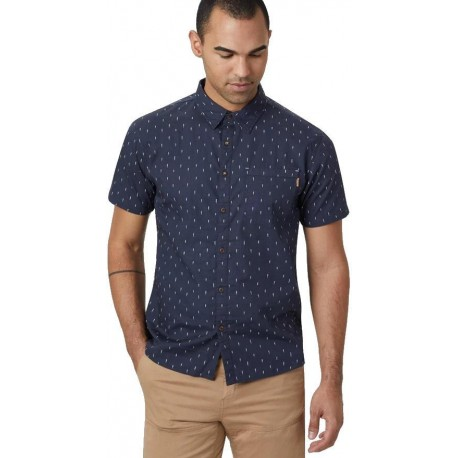 Tentree - Cotton Short Sleeve Button Up M's