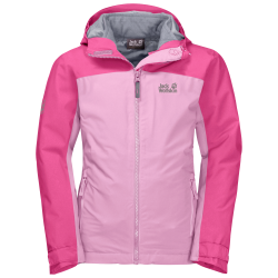 Jack Wolfskin - SAANA 3IN1 JACKET GIRLS