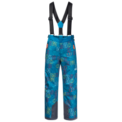 Jack Wolfskin - GREAT SNOW PRINTED PANTS KIDS