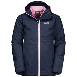 Jack Wolfskin - NORTHEASTERN 3IN1 JACKET KIDS