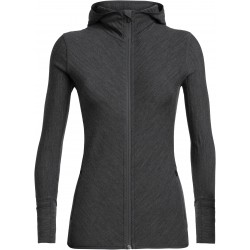 Descender LS Zip Hood Wmns