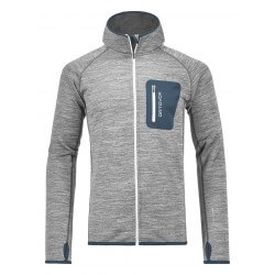 Fleece Melange Hoody Ms
