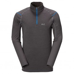 MERINO ZIP SHIRT MEN