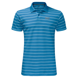 Jack Wolfskin - PIQUE STRIPED POLO MEN