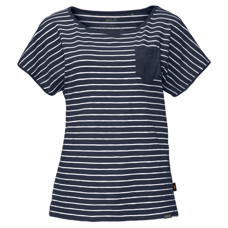 Jack Wolfskin - TRAVEL STRIPED T WOMEN