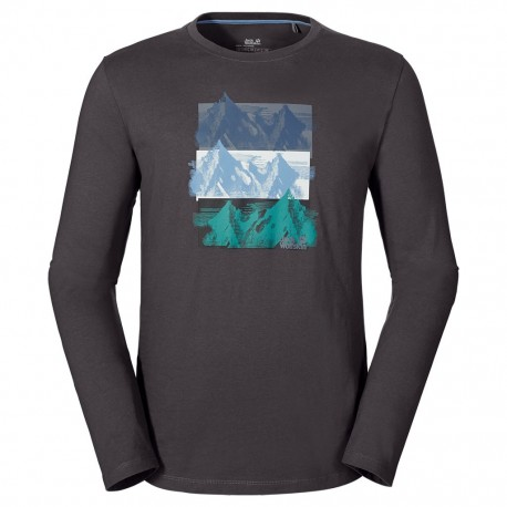 Jack Wolfskin - MOUNT TRIPLE LONGSLEEVE MEN